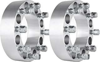 SCITOO 8x6.5 Wheel Spacers 2 inch,2X 8x6.5 to 8x6.5 fit for Dodge Ram 2500 3500 Dually 9/16 Thread 2