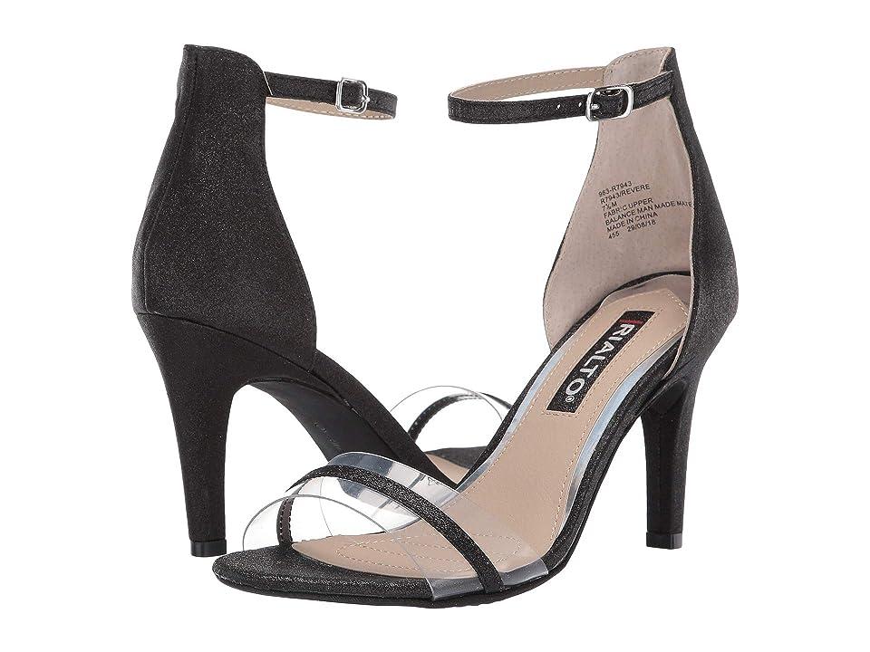 Rialto Revere (Black/Glitter) Women