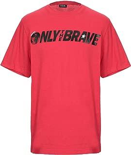Mens T-JUST-SV Brave Logo T-Shirt red