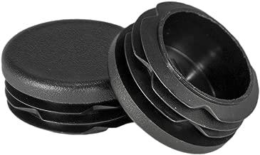 Prescott Plastics 1 1/4 Inch Round Plastic Plug, Pipe Tubing End Cap, Durable Chair Glide (20)
