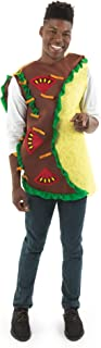 Spicy Taco Halloween Costume - Mexican Funny Food Adult Tortilla Burrito Outfit