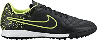 Youth Tiempo Genio Leather Soccer Turf Shoes
