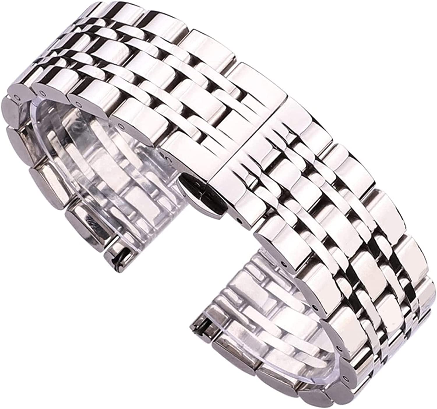 Selling and selling chenghuax Watch Strap Stainless Steel Free shipping on posting reviews 20mm Watchband Bracelet 2
