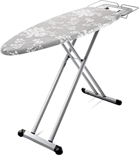 Bartnelli Pro Luxury Ironing Board - Extreme Stability | Made in Europe | Steam Iron Rest | Adjustable Height | Foldable |...