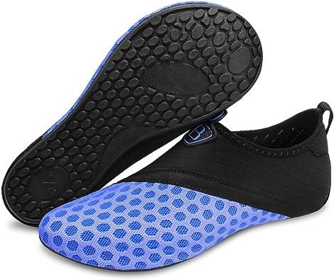 Amazon.com   BARERUN Barefoot Quick-Dry Water Sports Shoes Aqua Socks for  Swim Beach Pool Surf Yoga for Women Men   Water Shoes