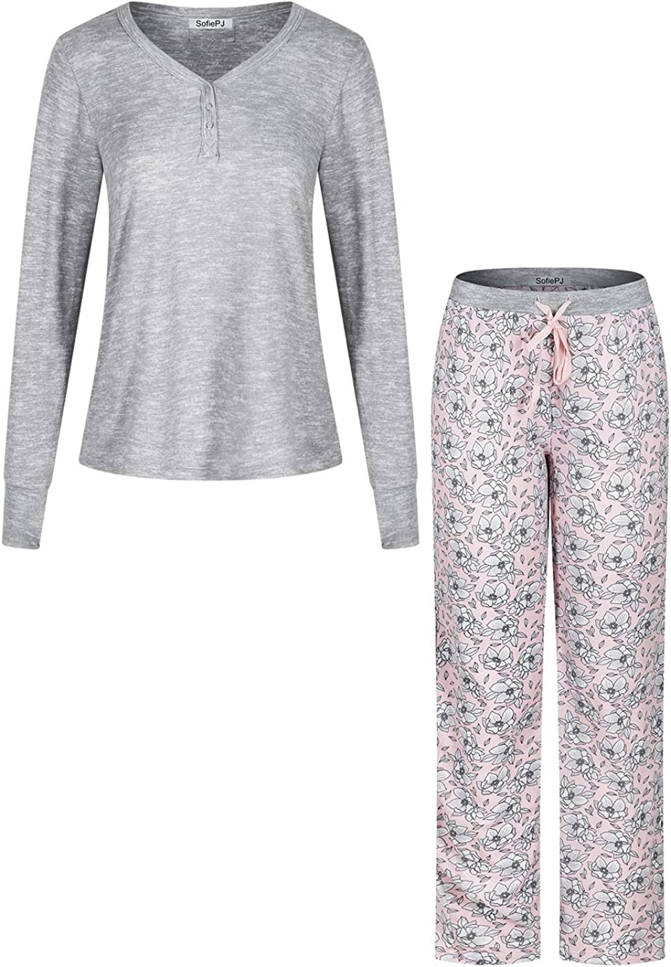 SofiePJ Women's Soft Cashmere-Like Knit All items free Regular dealer shipping Pajama Over Sleepwe Pull