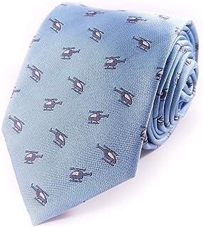 Helicopter Necktie - Helicopter Tie - Men's Helicopter Necktie - Helicopters Necktie - Helicopter gift for men