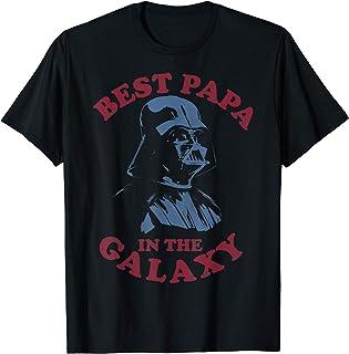 Star Wars Darth Vader Retro Best Papa Camiseta