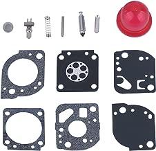 HIPA RB-117 Carburetor Repair Kits for ZAMA C1U-W19 Poulan Craftman 530071811 PP025 PP258TP PP25E PP325 SM705 P4500 P4500F Gas Trimmer