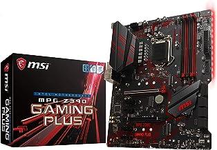 MSI MPG Z390 Gaming Plus LGA1151 (Intel 8th and 9th Gen) M.2 USB 3.1 Gen 2 DDR4 HDMI DVI CFX ATX Z390 Gaming Motherboard (...