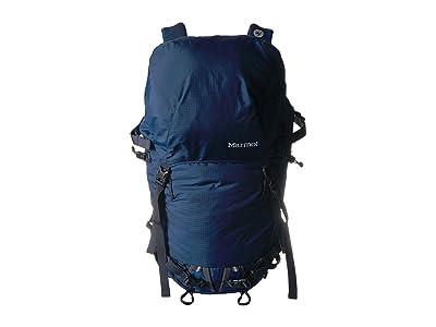 Marmot Eiger 32 (Estate Blue/Total Eclipse) Backpack Bags