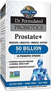Garden of Life - Dr. Formulated Probiotics Prostate+ - Acidophilus and Probiotic Supports Healthy Prostate and Digestive B...