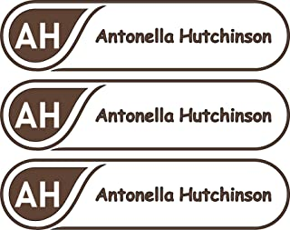 All-purpose, Custom Name Labels, Name And Initials, Multiple Colors And Sizes, Waterproof, Microwave And Dishwasher Safe, Washer And Dryer Safe, Personalized Labels, Custom Labels, Custom Name Labels