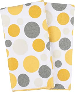 Ritz Royale Collection 100% Polyester Microfiber, Multi-Purpose, Polka Dot Print Kitchen Towel Set, 25