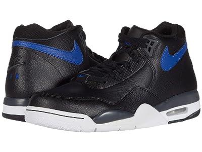 Nike Flight Legacy (Black/Hyper Blue/Dark Smoke Grey/White) Men