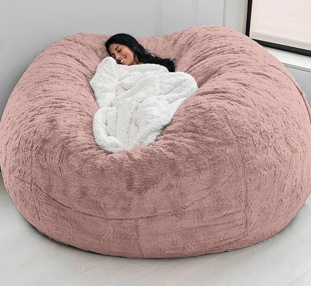 HAOHANYOUPIN Durable Comfortable Bean Chair Soldering Fur Max 45% OFF Bag Dropshiping