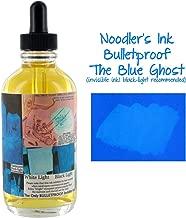 Noodler's Ink Fountain Pen Bottled Ink w/ Eyedropper & Free Pen, 4.5 oz. - Blue Ghost