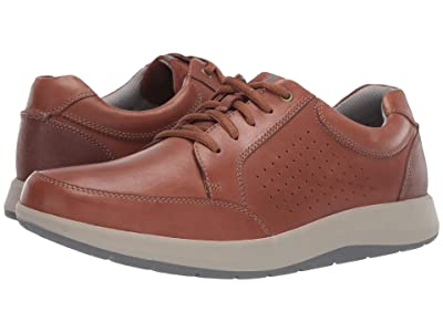Clarks Shoda Walk (Tan Leather) Men