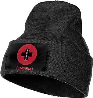 0c53a97bb0df5 KennedyF Eminem Recovery Skull Hats Cap Cuffed Plain Skull Knit Hat Cap  Black
