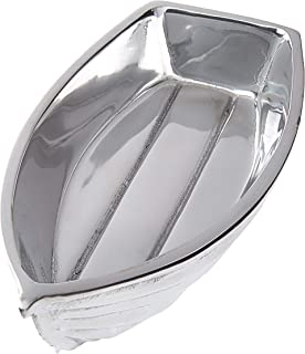 Mariposa 1688 Tender Nut Dish, One Size, Silver