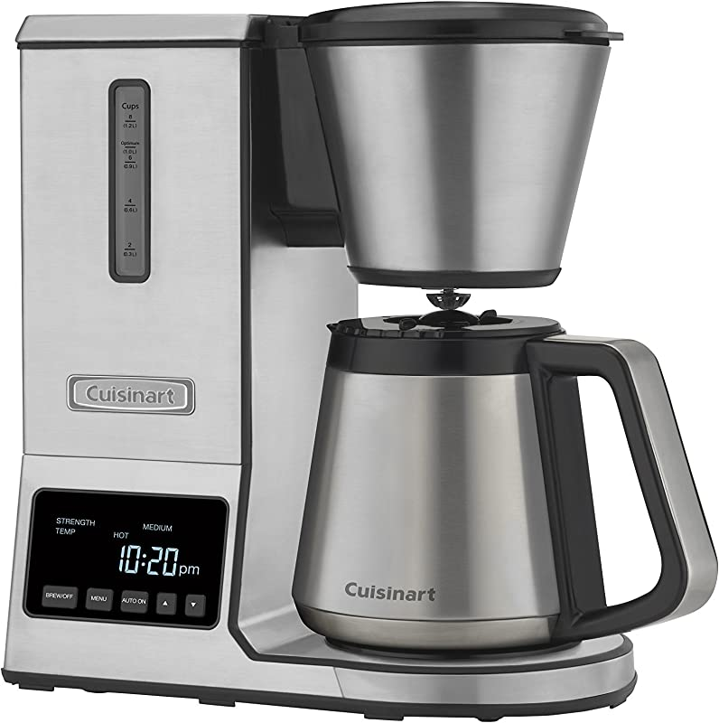 Cuisinart CPO 850 Coffee Brewer 8 Cup Stainless Steel