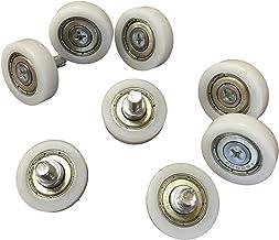 8x M6 kogellager wielen - 26 mm wiel diameter - industriële kwaliteit - voor bijvoorbeeld schuifdeuren, voertuigen - buite...