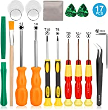 Keten Triwing Screwdriver for Nintendo, 17in1 Professional Full Security Screwdriver Game Bit Repair Tool Kit for Nintendo Switch/Nintendo Switch Lite/JoyCon, NES/SNES/GBA