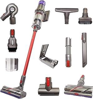 جارو برقی استیک قرمز بدون سیم حیوانات Dyson V11 با 10 ابزار شامل هد تمیز کننده گشتاور بالا   مکش قابل شارژ ، بدون سیم ، سبک ، قدرتمند   نسخه قرمز محدود