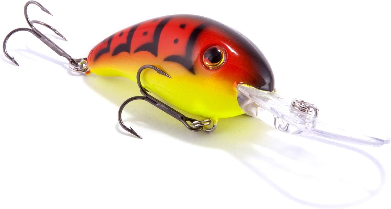 STRIKE KING Series 3XD Xtra-Deep Diving Crankbait #HC3XD-539 Green Crawfish