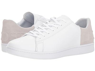 Lacoste Carnaby Evo 318 6 (White/Light Grey) Men