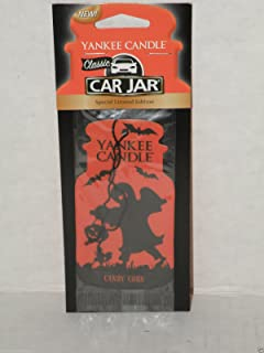 Yankee Candle車jar-candy Cane自動Air Freshner