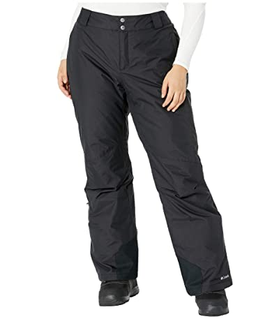 Columbia Plus Size Bugabootm Omni-Heat Pants (Black 2) Women