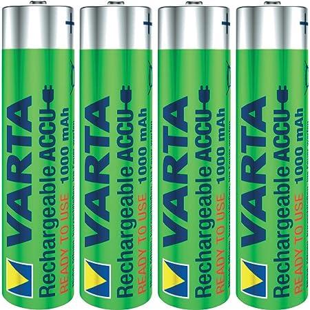 Varta Accu Nimh Akku Aaa Micro 1000 Mah 8er Pack 2x Elektronik