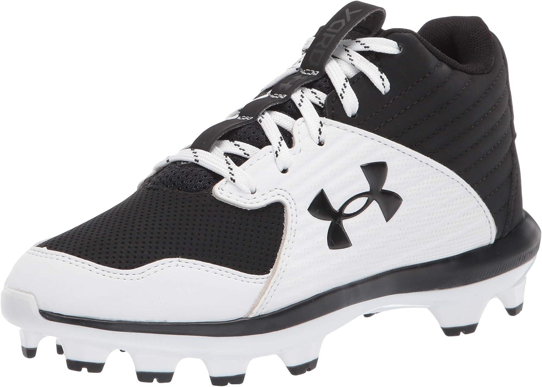 Under Armour Unisex-Child Yard Mid TPU Jr. Baseball Shoe
