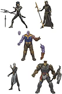 Hasbro Marvel Legends Series Toys 6-Inch Collectible Action Figure 5-Pack The Children of Thanos, 5 Figures, Premium Desig...