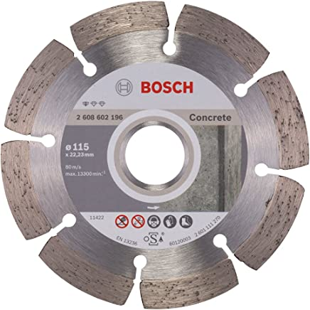 Disco Diamantado para Concreto 115x22.23mm Bosch, 2608602196-000, Azul
