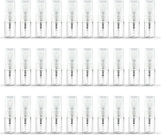 ZbFwmx 2ML Empty Mini Perfume Glass Bottle Mist Spray Pump Sample Pen Contaier Small Perfumes Atomizer Sprayer Vial Contai...