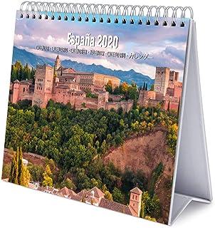 ERIK - Spain 2020 Desk Calendar - 12 Months, CS20023