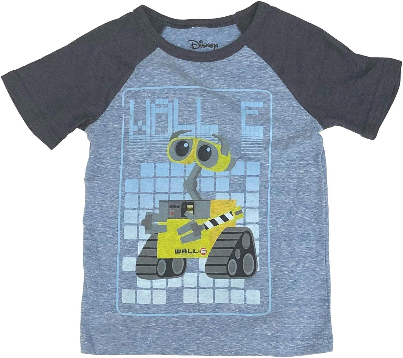 Jumping Beans Disney Boys Blue Short Walle T-Shirt Wall-E Tee Shirt
