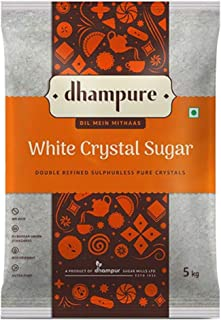 Dhampure White Crystal Sugar, 5kg