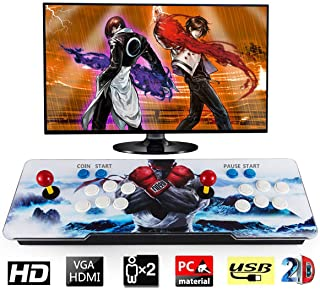 Barbella 1500 Classic Pandora 9s Box Arcade Console 1280x720 Full HD Video Game Console with HDMI...