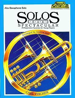 O5166 - Solos Sound Spectacular - Alto Saxophone Solo