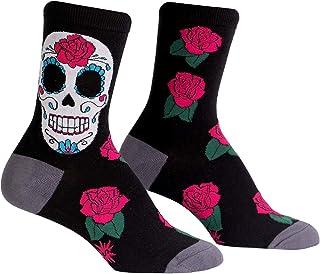 Details about  /Skull /& Bones Knee High Fashion Socks Girls Ladies Sock Size 9-11 NEW WHITE