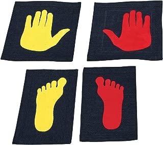 Tumbl Trak Girl's Gymnast Hands and Feet Placement Mat (5-Piece)