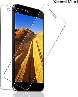 SNUNGPHIR® Xiaomi Mi A1/5X Cristal Templado Protector de Pantalla para Xiaomi Mi A1/5X Alta Claridad 9H Dureza Anti-Rasguños Anti-Huellas Dactilares Libre De Burbujas Protección Ojos [2pcs]