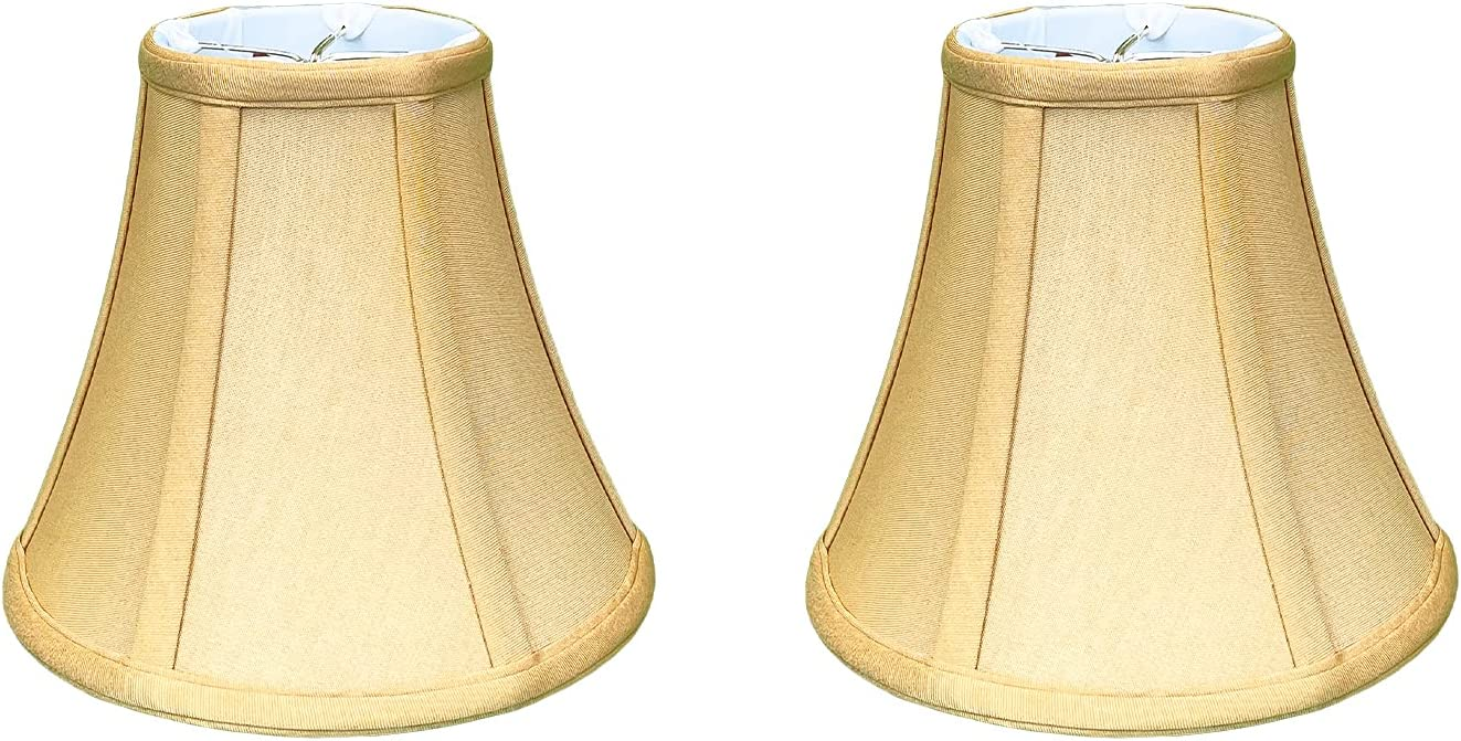 Royal Designs True Soldering Bell Lamp Shade Round Gold Max 58% OFF Antique Clip with