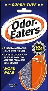 Odor-Eaters Supertuff, Odour-Destroying, Heavy duty insoles for work wear