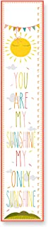 The Kids Room by Stupell You are My Sunshine Growth Chart, 7 x 0.5 x 39, Proudly Made in USA