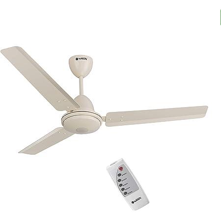 SINOX 12V DC BLDC Ceiling Fan 32 Watt with Remote Control (Ivory)