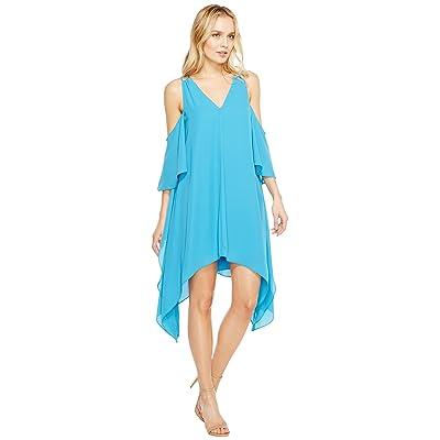 Adelyn Rae Fiona Woven Shift Dress (Turquoise) Women